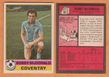 Coventry City Bobby McDonald 38